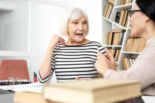 Speech Therapy Exercises for Seniors